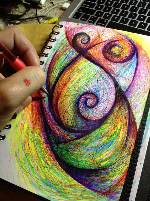 25 best ideas about abstract drawings on pinterest - Cool designs to paint ...