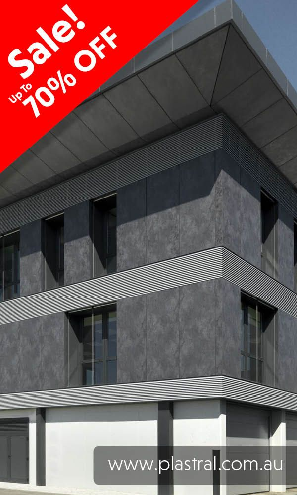 External Cladding using laminam. Get to http://www.plastral.com.au/product/laminam-sale/ for our massive 70% OFF sale! #ceramictiles #ceramic #tiles #laminam #cladding #facade #interior #design #renovations #exterior
