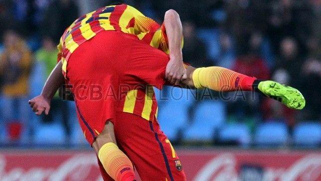 Getafe 2-5 FC Barcelona   Efusividad   FOTO: MIGUEL RUIZ - FCB