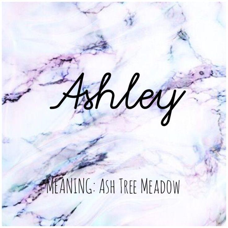 ASHLEY Names Ashley BabyNames