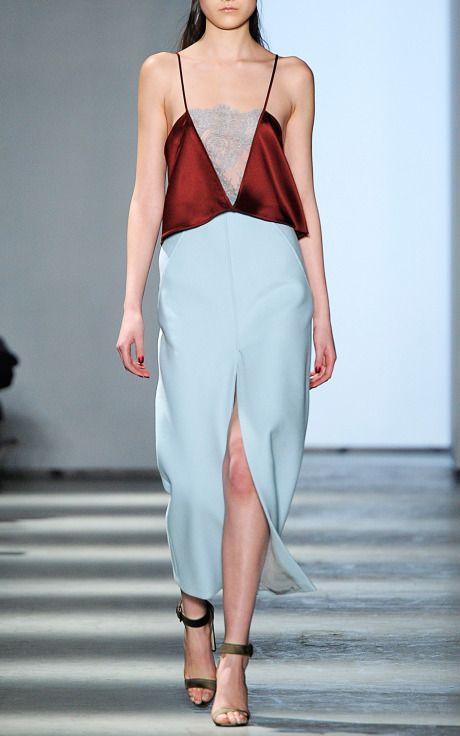 Wes Gordon Fall/Winter 2014 Trunkshow Look 7 on Moda Operandi