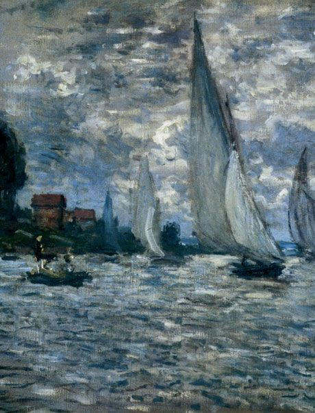 """The Boats"" ~ Regatta at Argenteuil, Monet"