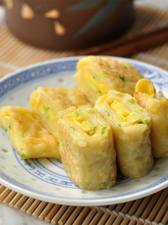 Egg Pancake Rolls, Chinese and Taiwanese Breakfast | Taste Hong Kong