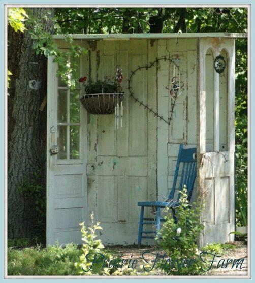 Oltre 25 fantastiche idee su giardini rustici su pinterest - Decorazioni per giardini ...