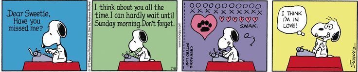 Peanuts by Charles Schulz for Jul 8, 2017 | Read Comic Strips at GoComics.com