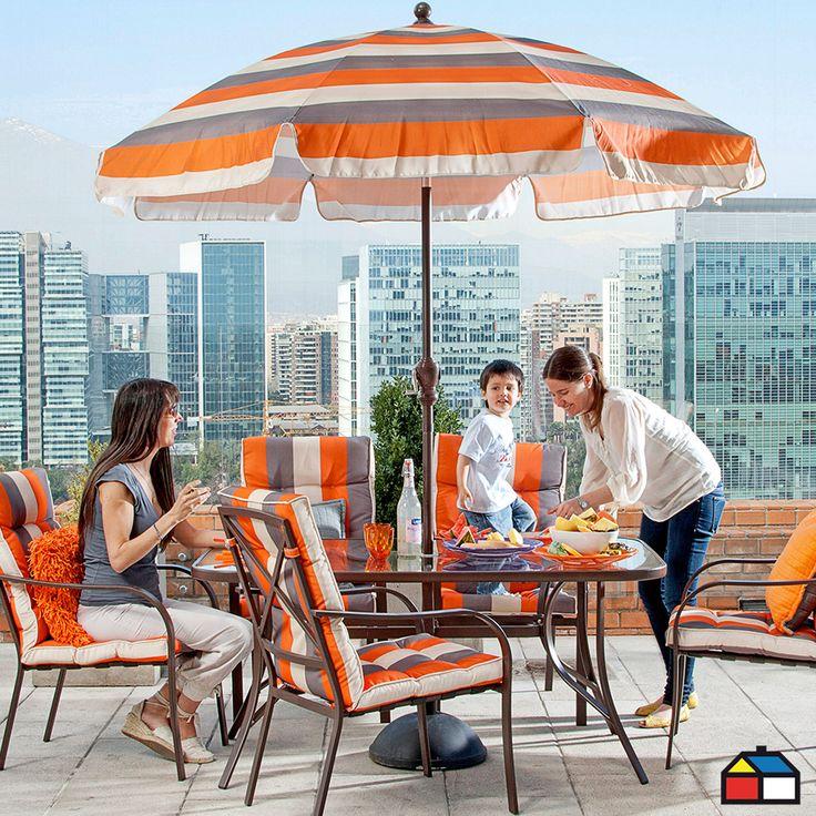 Juego #terraza Córcega 8 piezas
