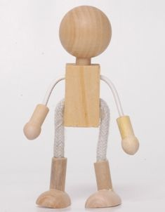Wood and Wire Dolls, bendy dolls