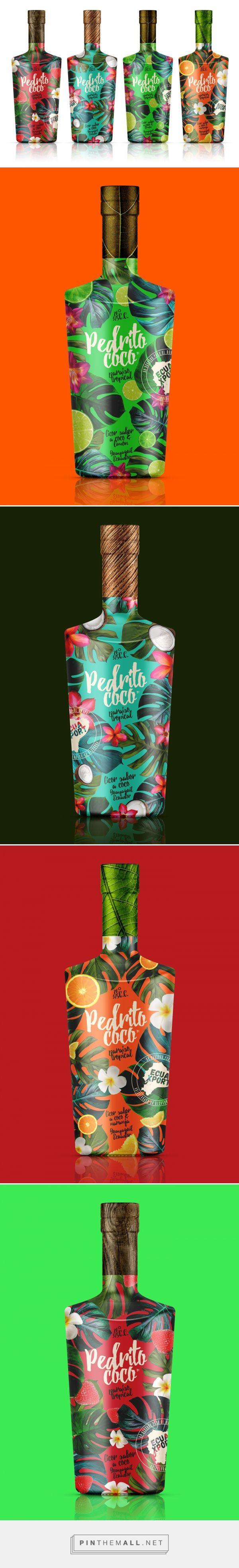 Pedrito Coco Spirits Packaging by Pulsum Brands | Fivestar Branding – Design and Branding Agency & Inspiration Gallery