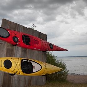 Lovely Kayak Garage Storage Rack
