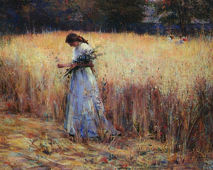 Moça no Trigal - c.1916 - Eliseu Visconti – Wikipédia, a enciclopédia livre