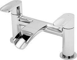tre mercati ora  waterfall bath filler tap (chrome). - taps4less.com