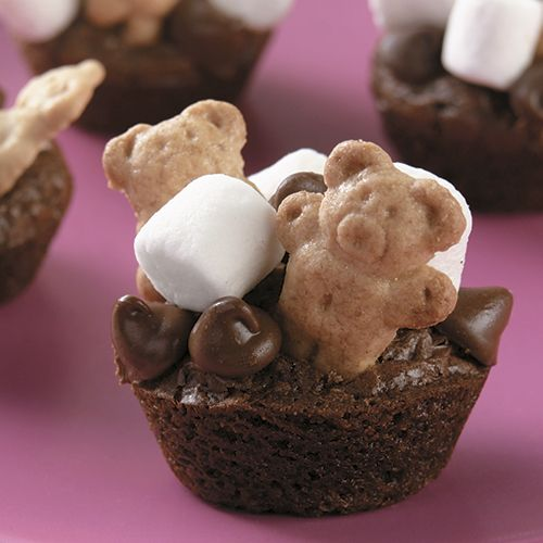 S'more+Brownie+Bites+-+The+Pampered+Chef®