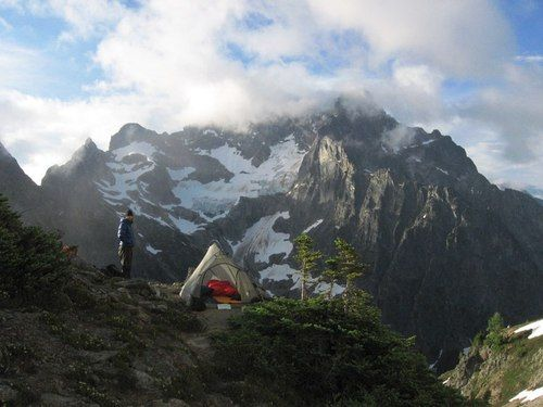 """campfiresmell:    Fisher Basin via""""Easy Pass"""" North Cascades, WA"""