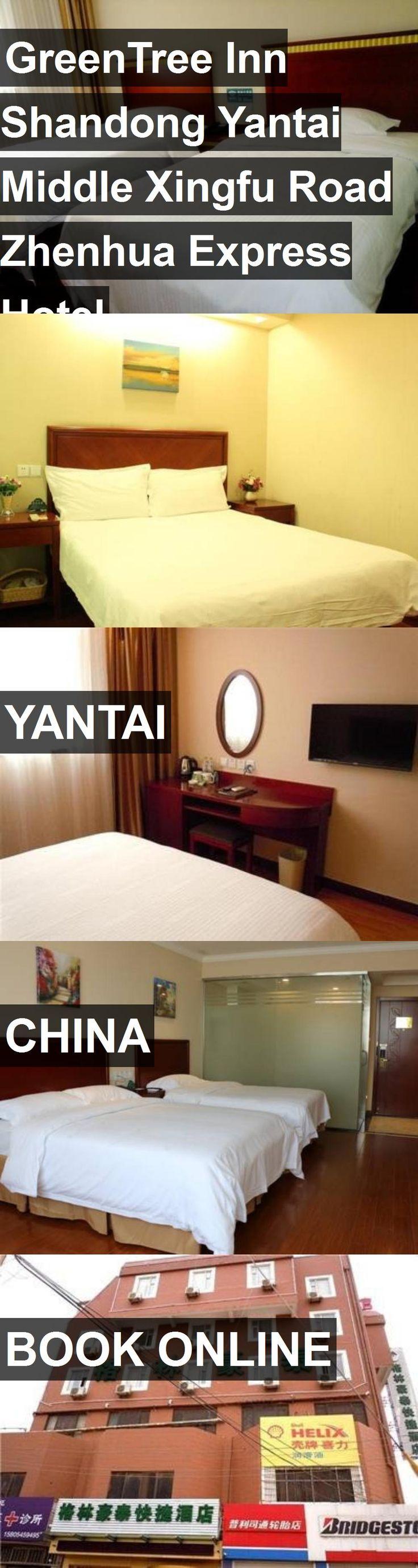 Hotel GreenTree Inn Shandong Yantai Middle Xingfu Road Zhenhua Express Hotel in Yantai, China. For more information, photos, reviews and best prices please follow the link. #China #Yantai #GreenTreeInnShandongYantaiMiddleXingfuRoadZhenhuaExpressHotel #hotel #travel #vacation