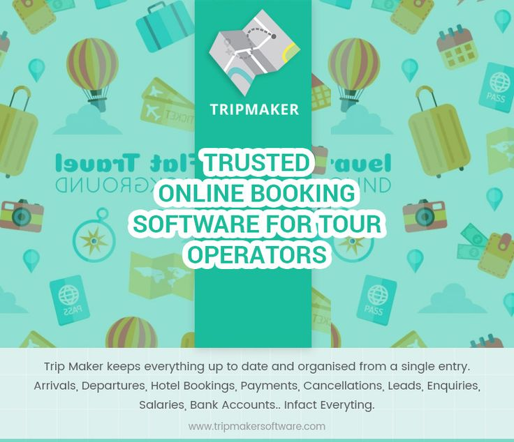 Trip Maker software is an all-inclusive web-based - trip maker software