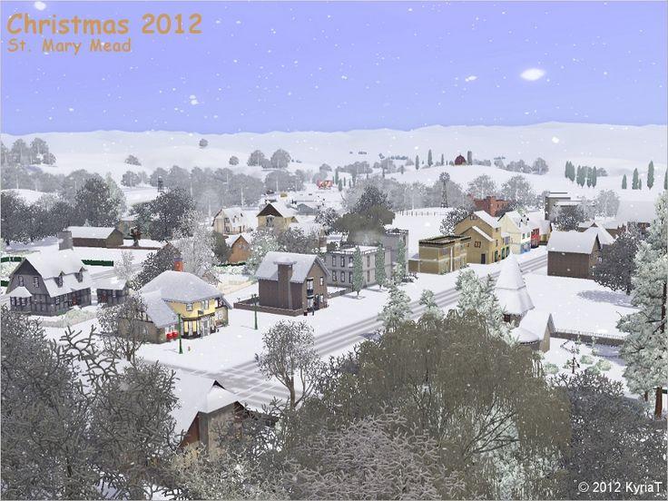 KyriaT's Sims3 World: Christmas 2012 Desktop Wallpapers