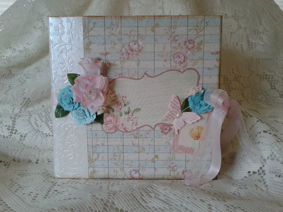 Primrose Stack Large Scrapbook Album 8.75 by CraftyCreationsByIvy