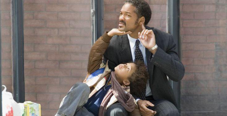 """""""Das Streben nach Glück"""" - Kino-Tipp - Will Smith und sein Sohn Jaden standen für diesen Film erstmals gemeinsam vor der Kamera."""
