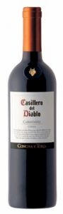 Casillero del Diablo Carménère 2010. Goes really well with burgers off the grill... Mmmmmm.