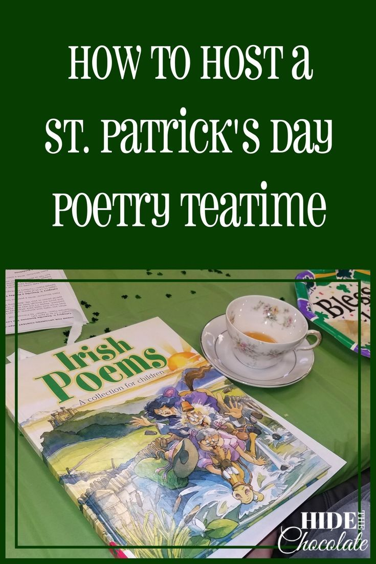 How To Host a St. Patrick's Day Poetry Teatime PIN (1)