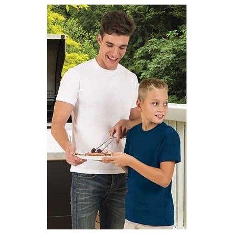 Camiseta mezcla kobin. La camiseta kobin es una camiseta barata y de buena calidad que se ofrece como regalo promocional estrella de su categoría. Esta camiseta kobin es personalizable al completo con serigrafía y bordado. Disponible en dos colores diferentes.  http://www.kiopromotional.com