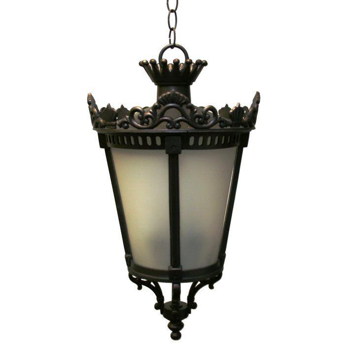 Phillipstown 4 Light Outdoor Hanging Lantern
