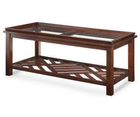 Best Buy A Beveled Coffee Table With Diagonal Slat Bottom At 400 x 300