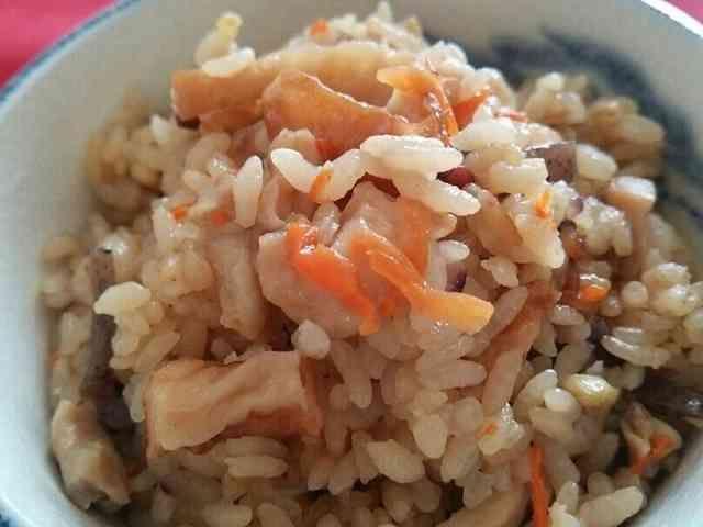 炊き込みご飯・鶏五目のレシピ
