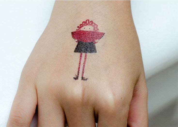 tatouage temporaire tattoo fille 3 les esth tes tatouages temporaires pinterest. Black Bedroom Furniture Sets. Home Design Ideas