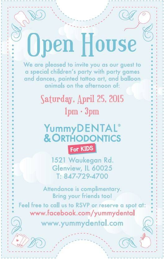 YOU Are Invited To Our Open House Saturday, April 25th! Come Check Out Our
