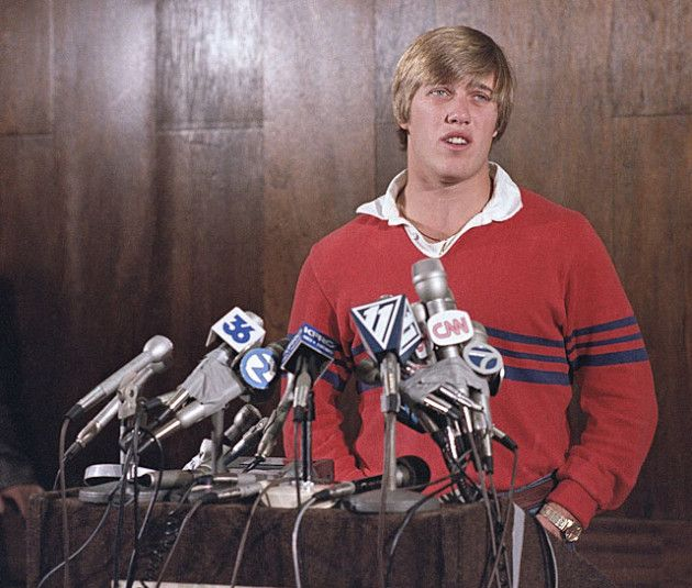 John Elway 1983 draft press conference