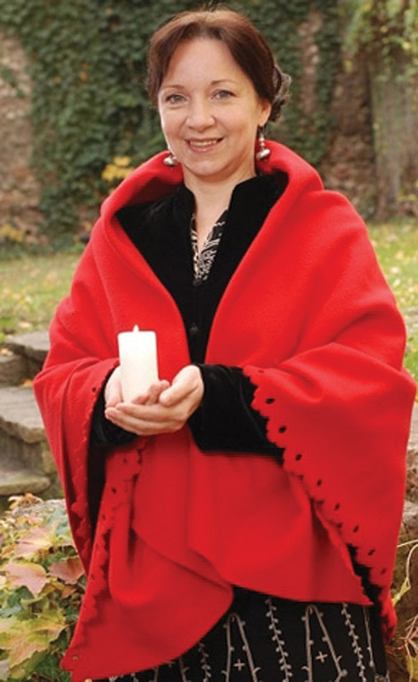 Márta Sebestyén, Hungarian folk singer and Unesco Artist for Peace (2010)