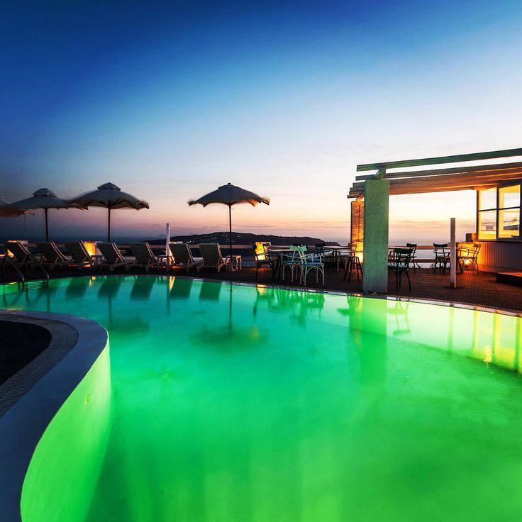 Artemis Suites Pool overlooking the Caldera