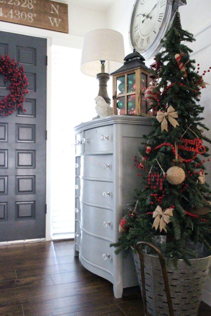 Farmhouse Christmas with Hobby Lobby - TxSizedHome