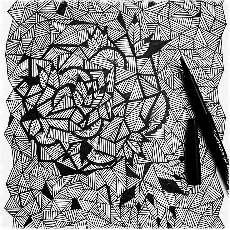 dessin graphique diy