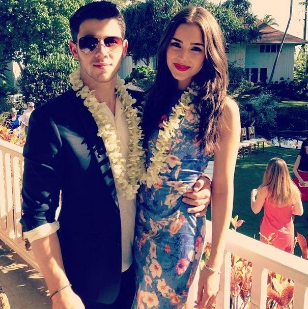 14 Super Cute Pics of Nick Jonas and Olivia Culpo