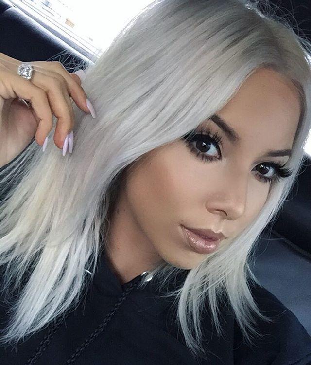 De 20 Bedste Id 233 Er Inden For Silver Blonde Hair P 229 Pinterest