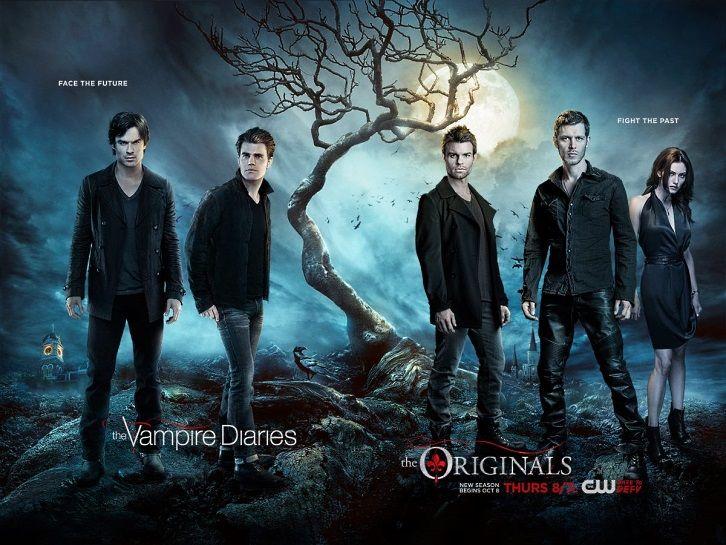 The Vampire Diaries and The Originals - Season Premiere - Combo Poster   Spoilers