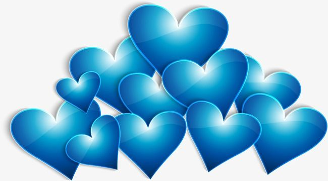 Blue Heart Blue Vector Heart Vector Blue Png Transparent Clipart Image And Psd File For Free Download Blue Heart Clip Art Vector