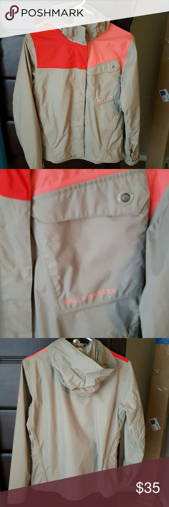 Helly Hansen rain jacket Size small. Great condition. Helly Hansen Jackets & Coats