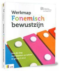 Mariët Förrer. Werkmap fonemisch bewustzijn. Aan de slag met klanken en letters in groep 1 en 2. Plaats: K/NED.