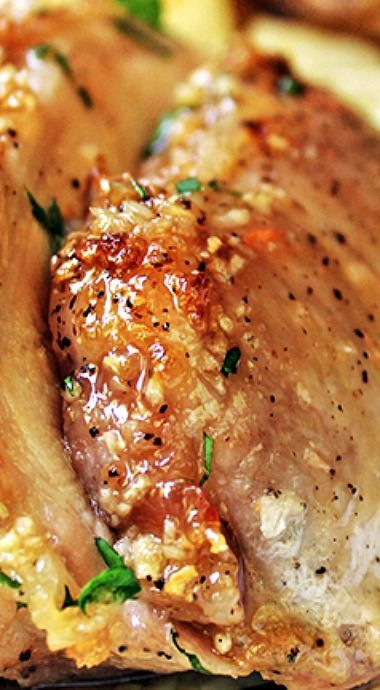 Brown Sugar Garlis Pork Roast: