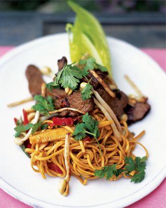 beef and vegetable stir-fry: Beef Recipes, Food, Vegetables, Vegetable Stir Fry, Oliver Recipes, Stirfry, Jamie Oliver
