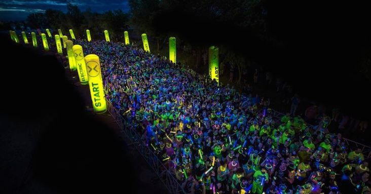 Themed Races: The Electric Run! I would love to do this in CANADA!!!