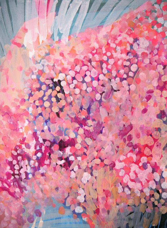"Greta Taxis; Acrylic, 2013, Painting ""OCEANOGRAPHER"""