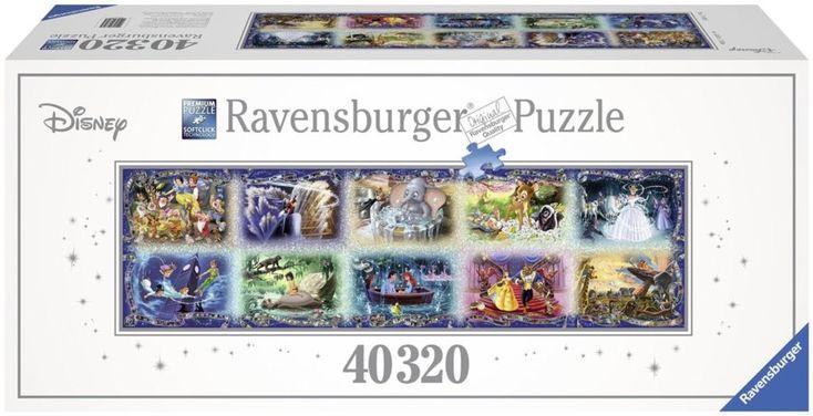 Největší puzzle světa RAVENSBURGER Disney okamžiky 40320 dílků