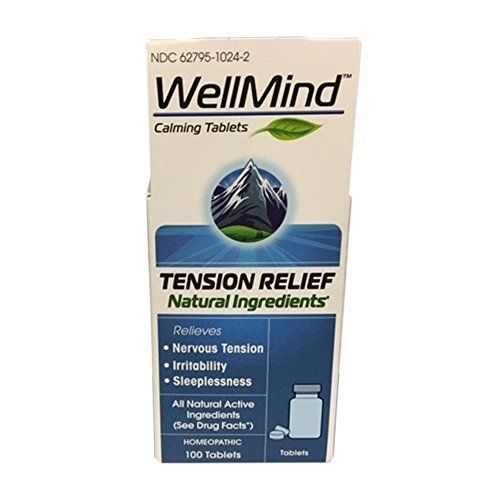 WellMind Calming Tablets are a homeopathic medicine formulated with 5 active ingredients to aid sleeplessness by temporarily relieving minor occasional simple nervous tension and irritability. Serious Medicines, From Nature. Manufactured by MediNatura       Famous Words of... more details at https://www.borderlessinternational.com/blog/single-homeopathic-remedies/product-review-for-wellmind-calming-tablets-tension-relief-100-count/