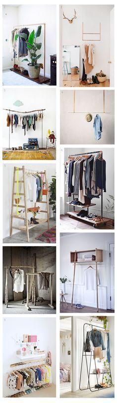 DECO ideas: Percheros, de imprescindible en las tiendas de ropa a rey de los dormitorios. https://thecreativejungleblog.wordpress.com/2016/01/30/deco-inspiracion-percheros/ Más en The Creative Jungle