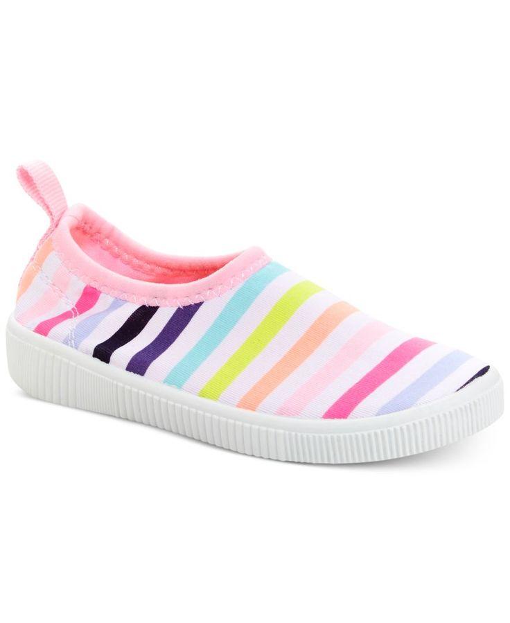 Carter's Little Girls' or Toddler Girls' Floatie Aqua Sock Slip-On Shoes