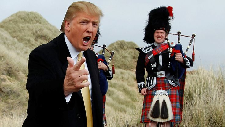 A series of colourfully-written letters sent by Donald Trump to then-Scottish first minister Alex Salmond is published in full for the first time.